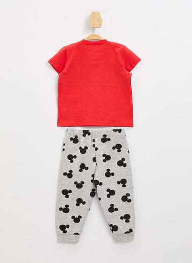 DeFacto Pijama Takım Kırmızı